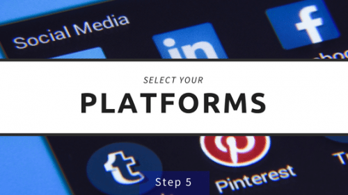 Select Your Platforms Step 5