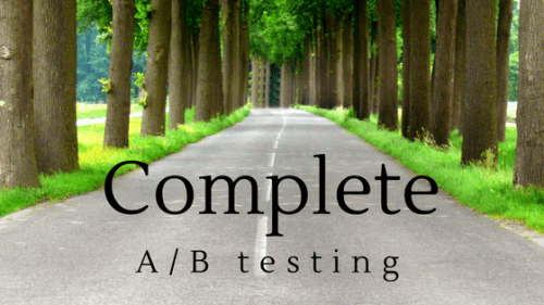 Complete-A/B-Testing