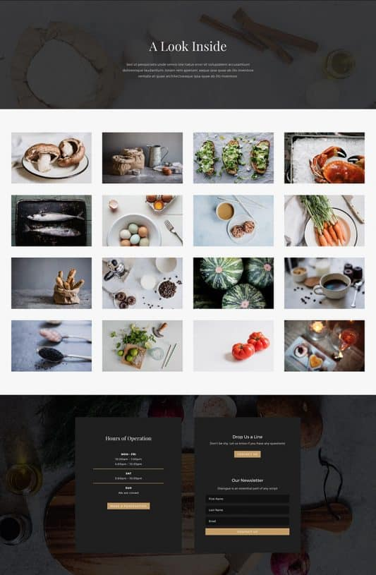 Bed And Breakfast Web Design 5