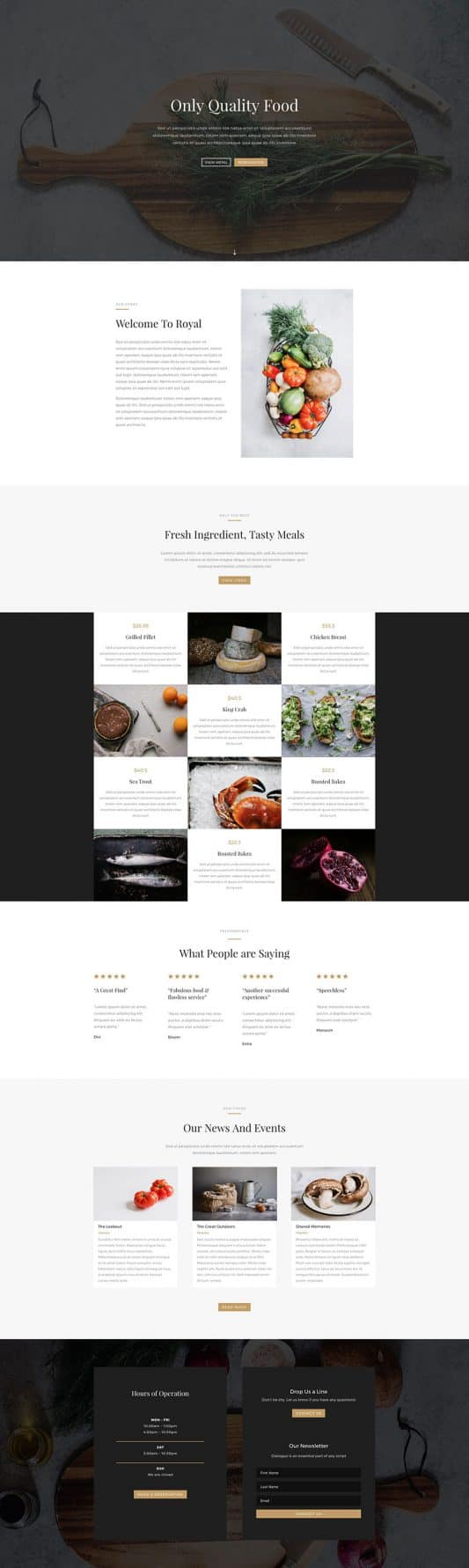 Bed And Breakfast Web Design 1