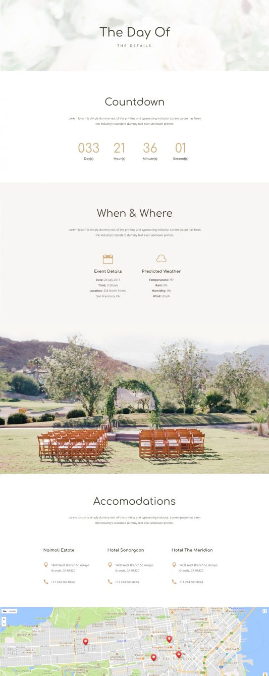 Wedding Web Design 4