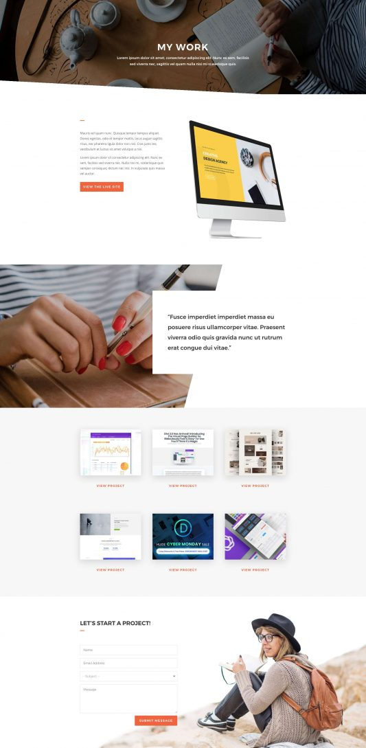 Copywriter Web Design 7
