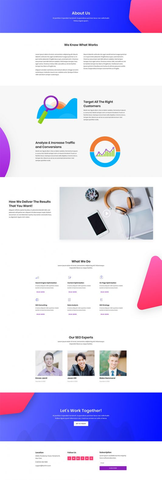 SEO Agency Web Design 1
