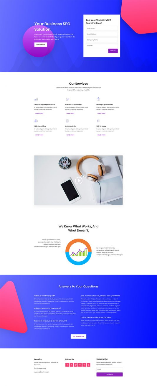 SEO Agency Web Design 5