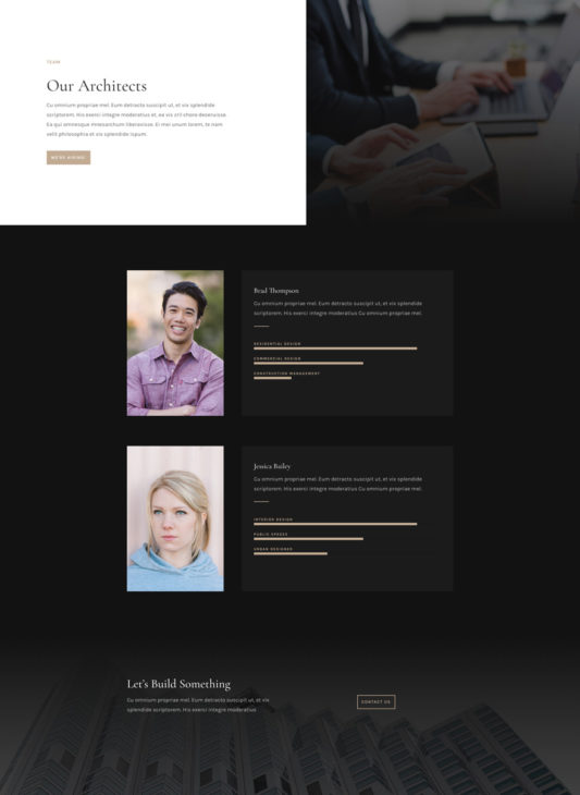Architecture Firm Web Design 8