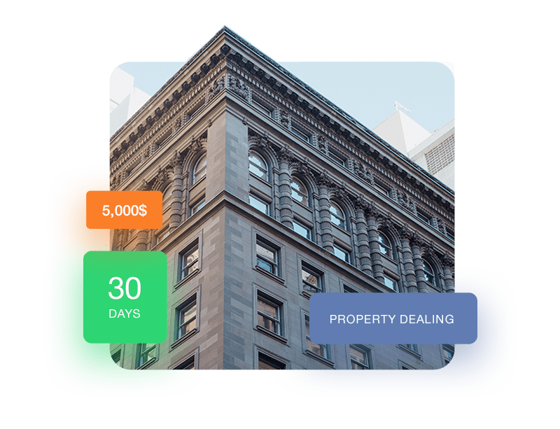 Real Estate Landing Page Style 1