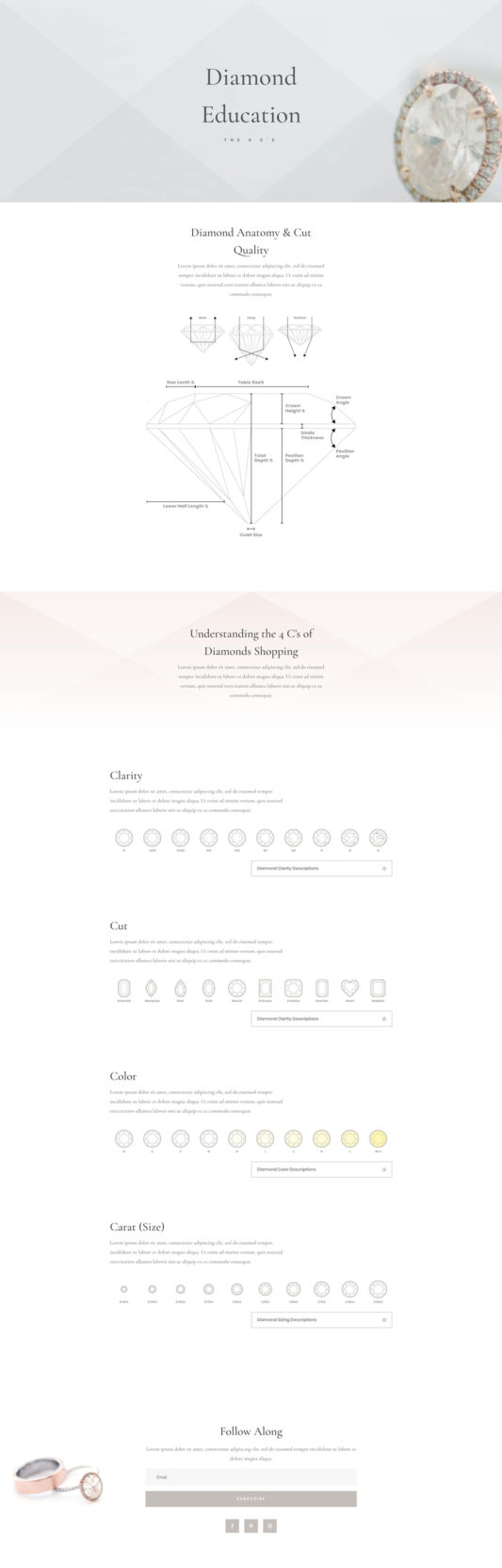 Jeweler Web Design 4