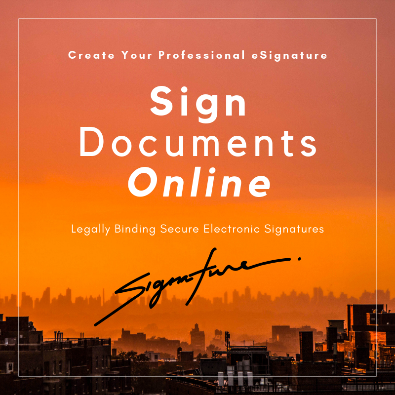 Sign Documents Online 1